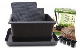 UrBin Grower Basic Single Container Kit - Black