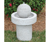 Beckett Water Gardening, Fountain Contemp Ribbed Stone